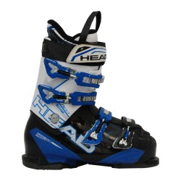 Skischuh gebraucht Head next edge weiß/blau