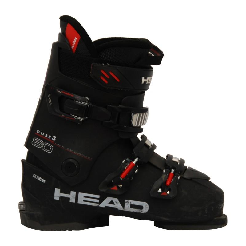 Chaussure de Ski Occasion Head cube 3 80 noir qualité A