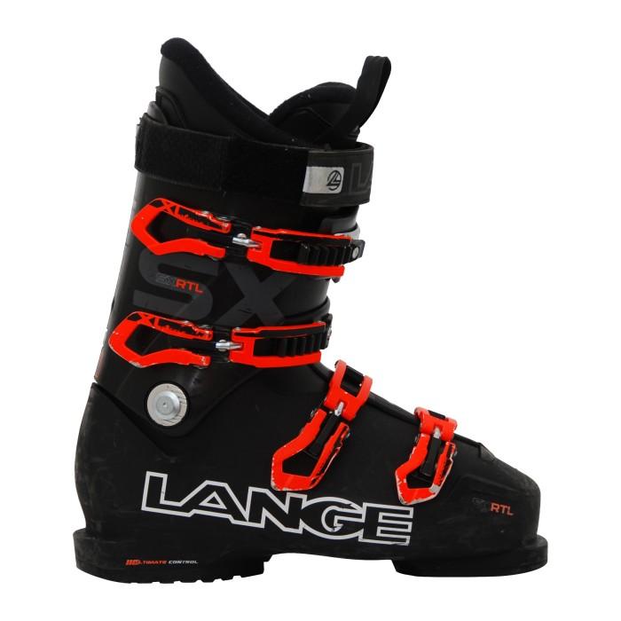 Skischuh Occasion Lange SX rtl schwarz/orange