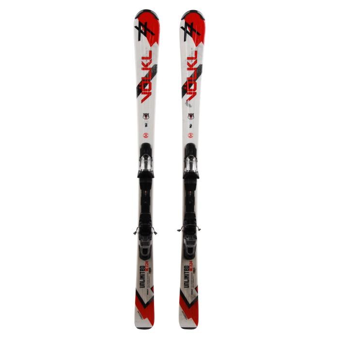 Gebrauchte Skier Volkl Unlimited AC 7.24 + Befestigungen