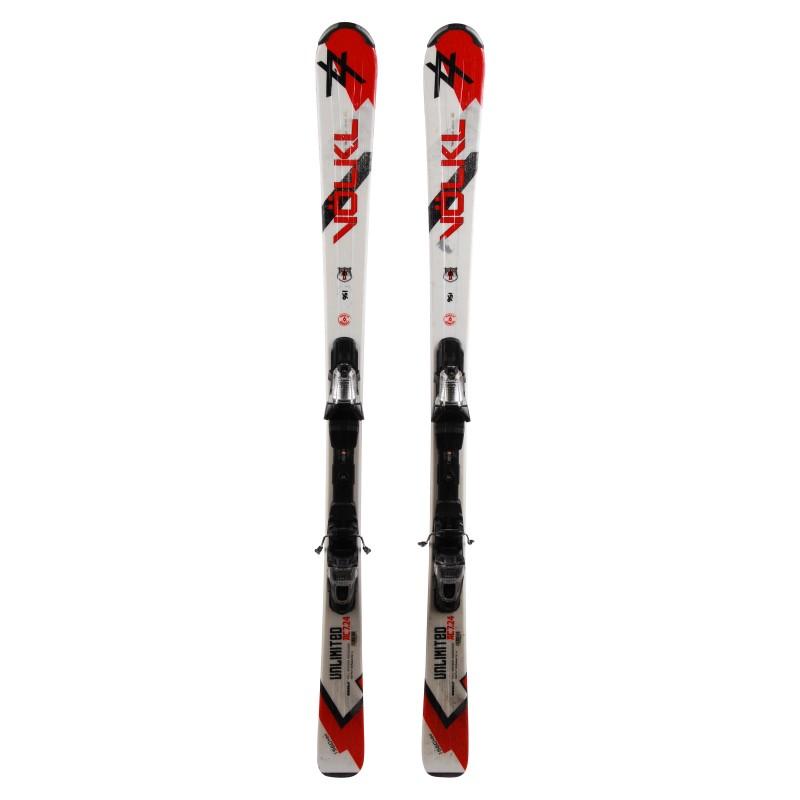 Ski Anlass Volkl Unlimited AC 7.24 - Bindungen