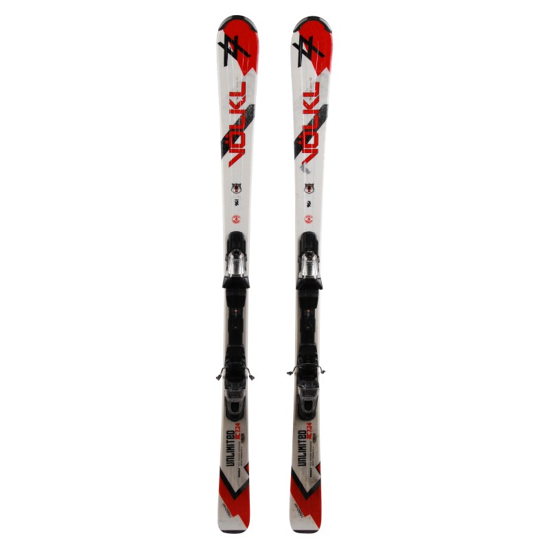 Ski occasion Volkl Unlimited AC 7.24 - bindings