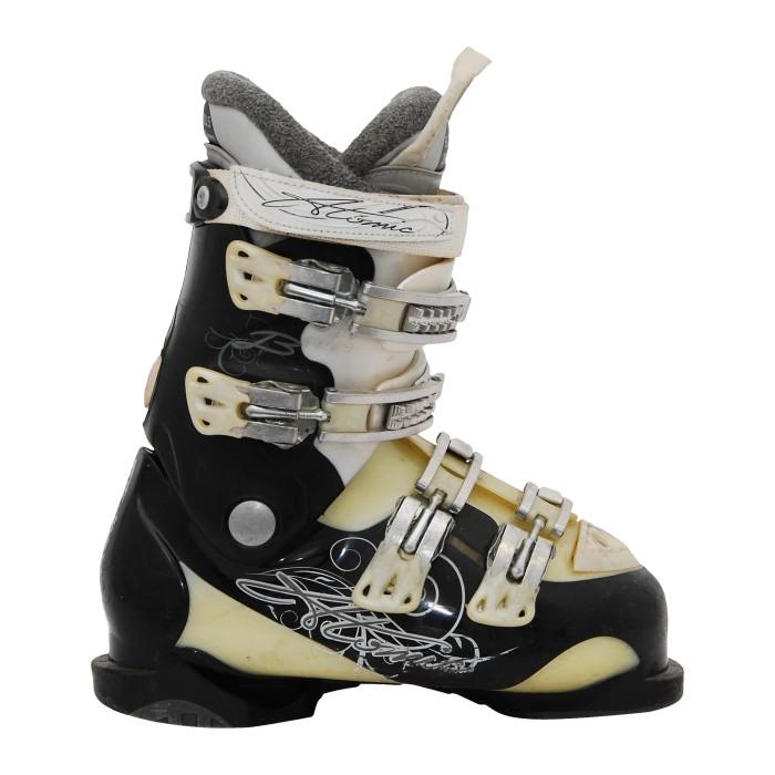 Bota de esquí usada Atom B-negro/beige