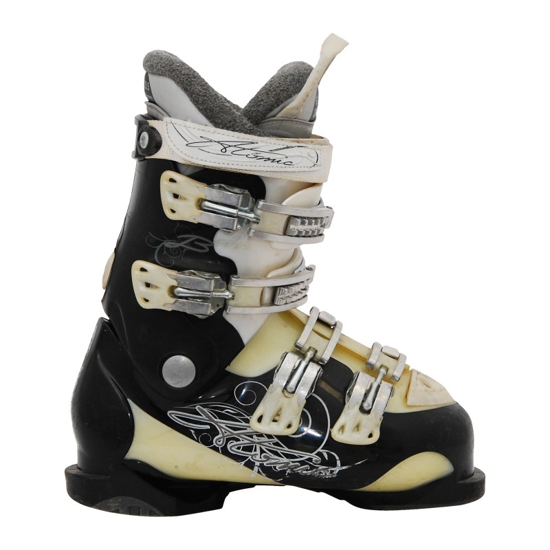 Chaussure de ski occasion femme Atomic B noir/beige