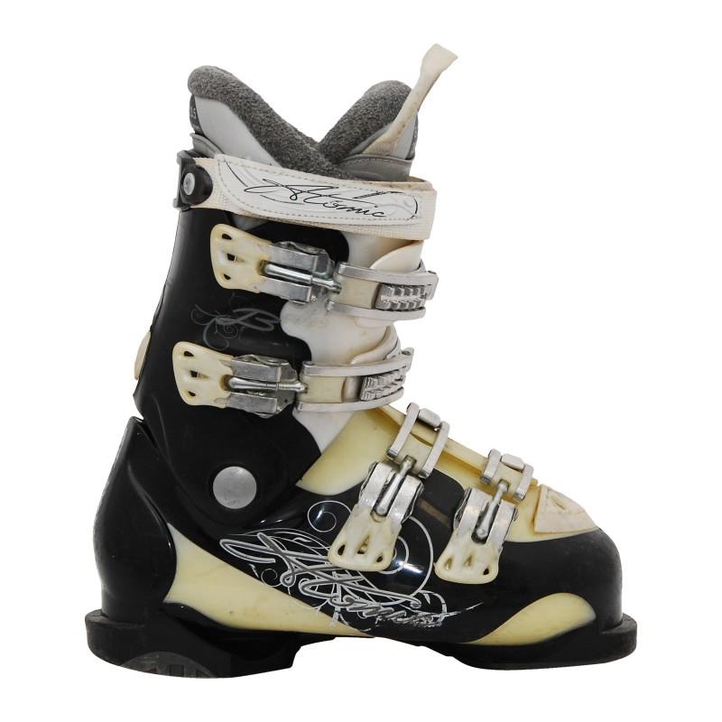 Chaussure de ski occasion femme Atomic B noir/beige qualité A