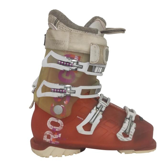 Rossignol Toda la pista naranja utilizado bota de esquí