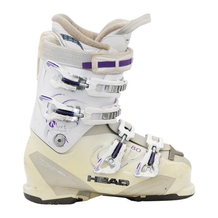Testa modello bordo successivo utilizzato scarpone da sci