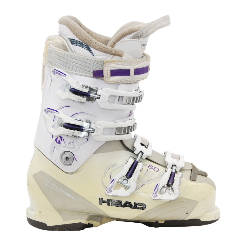 Chaussure de ski occasion Head next edge blanc qualité A