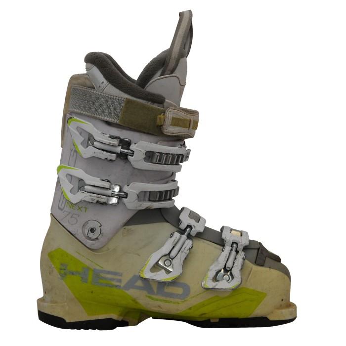 Chaussure de ski occasion Head next edge 75W blanc/jaune