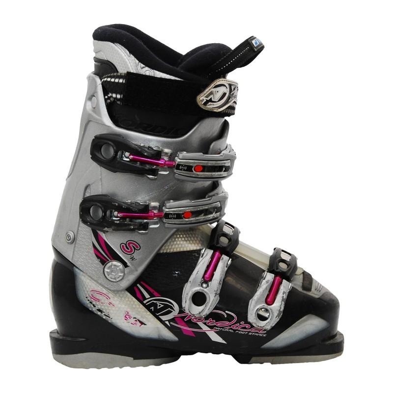 Chaussure de Ski Occasion Nordica Cruise gris/noir/rose