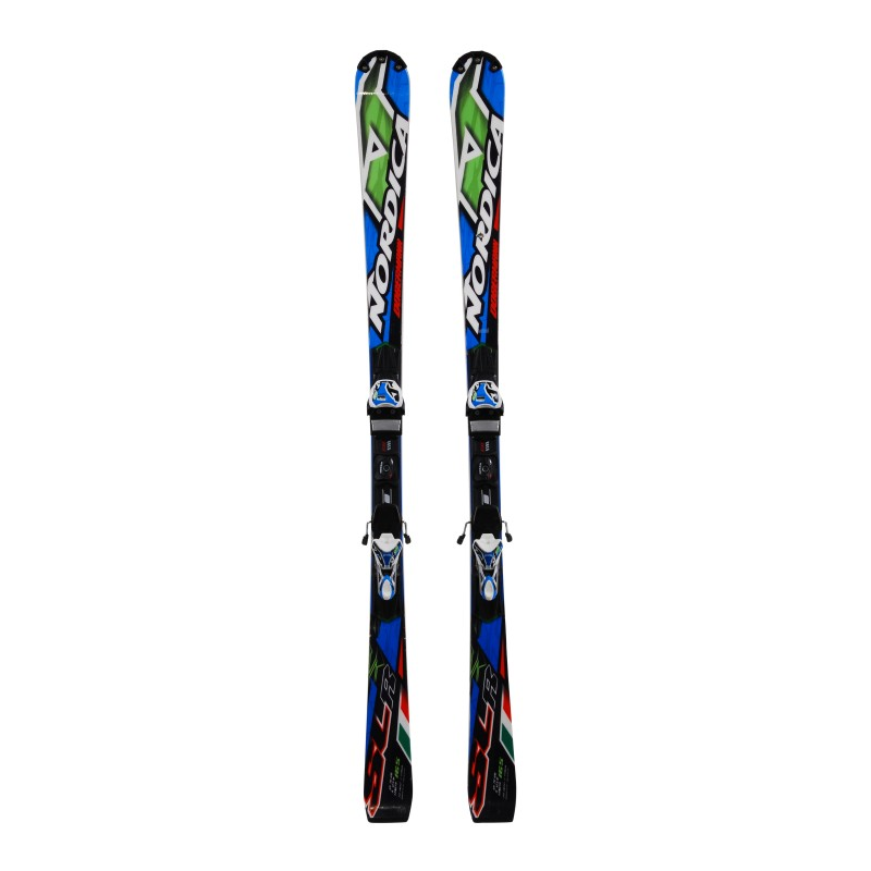 Ski occasion Nordica Dobermann SLR + fixations qualité A
