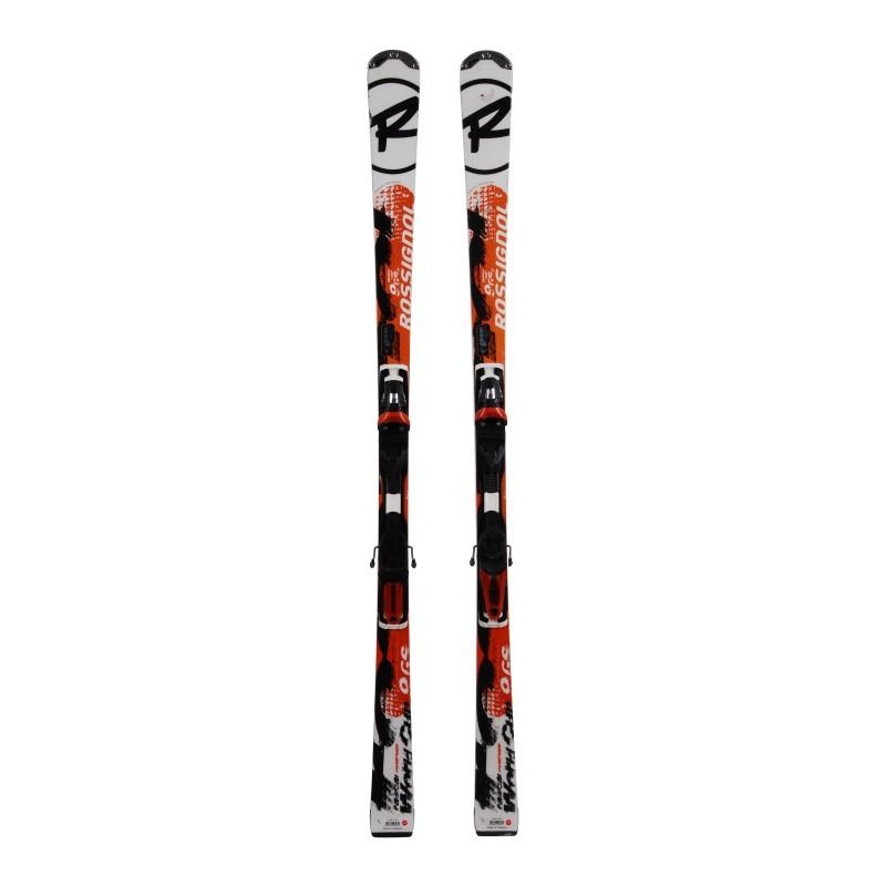Gebrauchte Ski Nachtigall Radical 9 GS World Cup TI + Befestigungen
