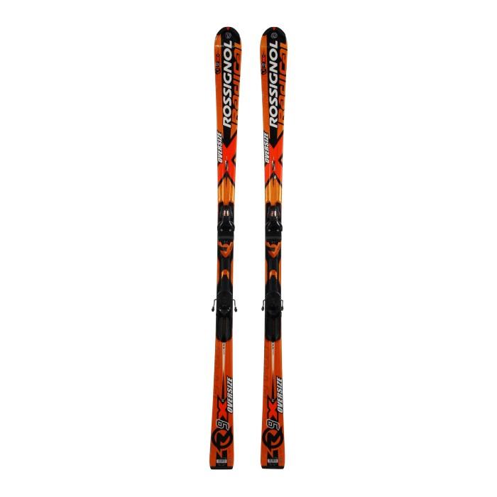 Esquí usado Rossignol R9X Ti Oversize - Fijaciones