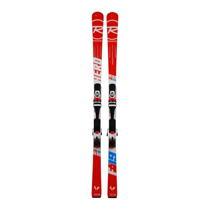 Ski used Rossignol Hero Elite GS fis - bindings