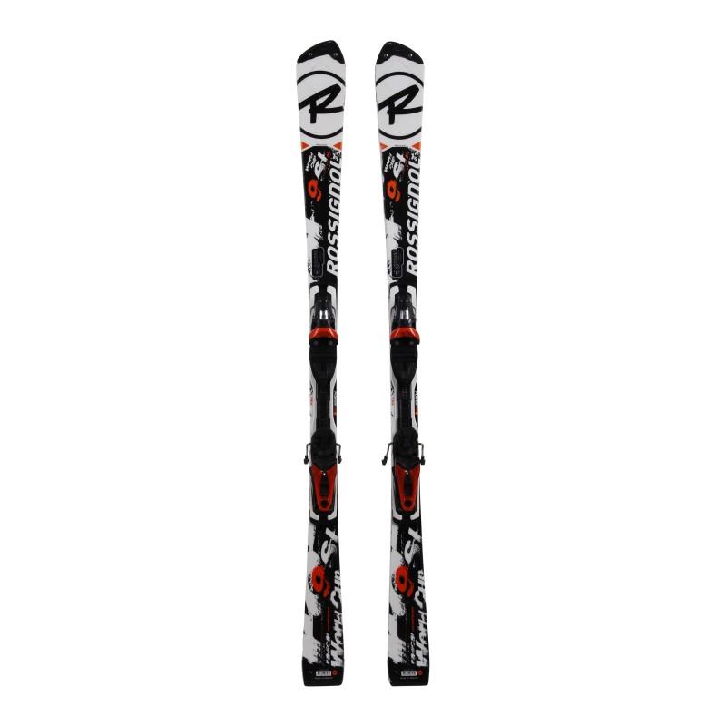 Gebrauchte Ski Nachtigall Radical 9 SL slant nose TI World Cup oversize + Befestigungen