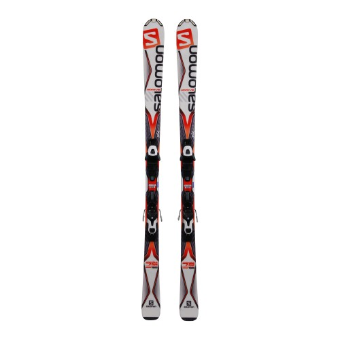 Esquí usado Salomon X Drive 7.5 - Fijaciones