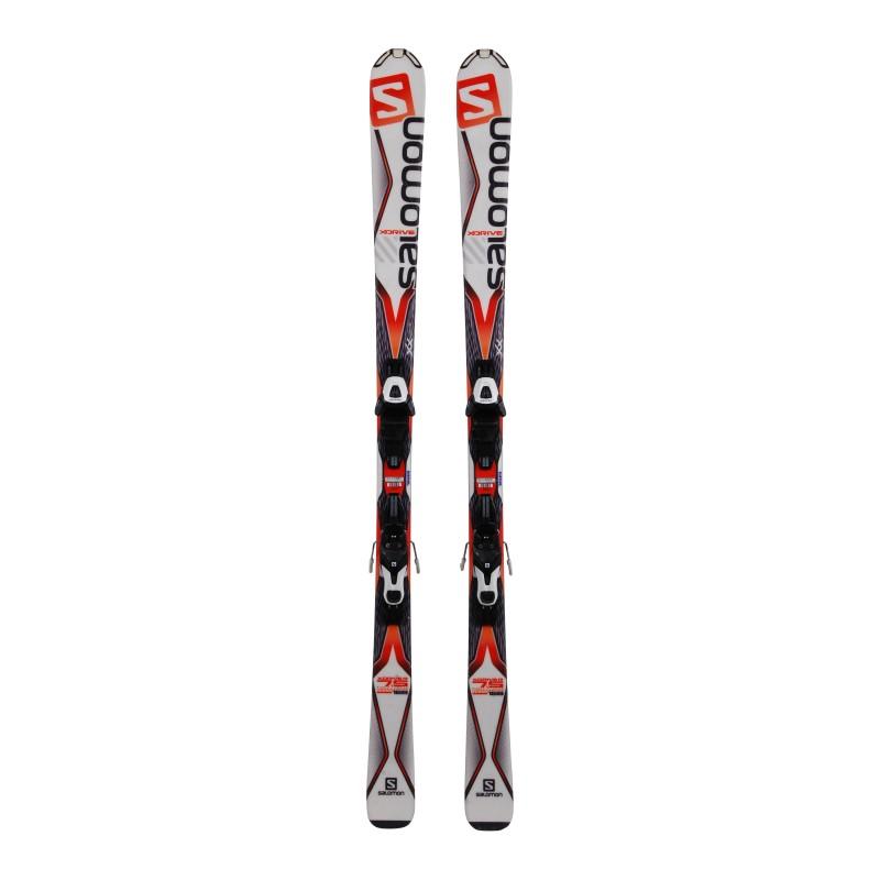 Ski occasion Salomon X Drive 7.5 + Fixations qualité A