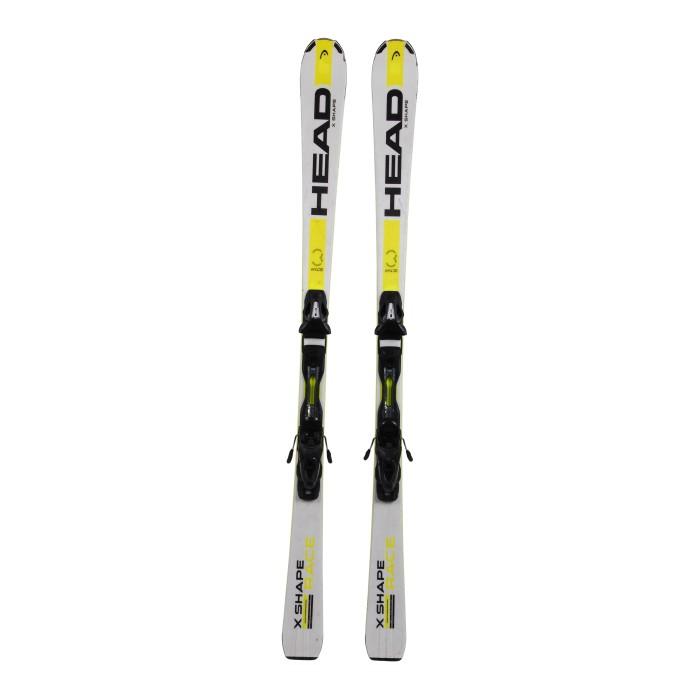 Gebrauchte Skier Head X Shape Race + Befestigungen