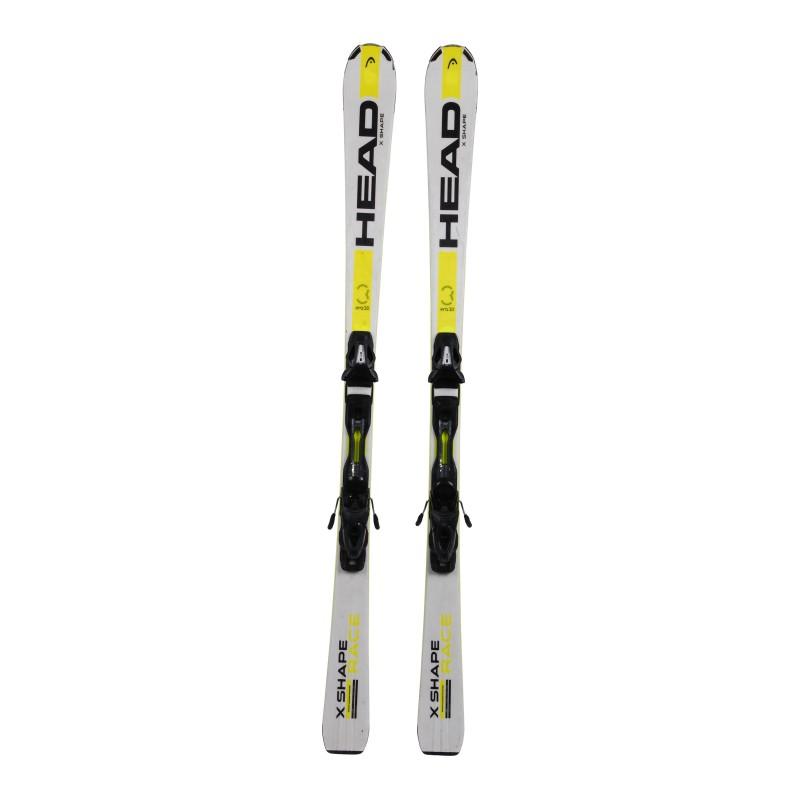 Ski occasion Head X Shape race + fixations qualité A