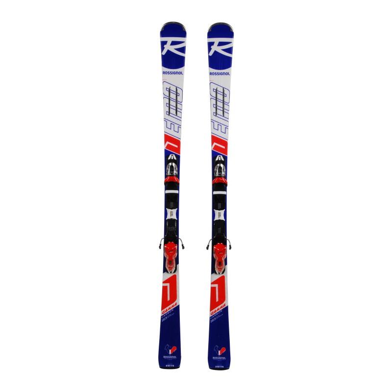 Ski Rossignol Demo Gamma Carbon Gelegenheit + Befestigungen
