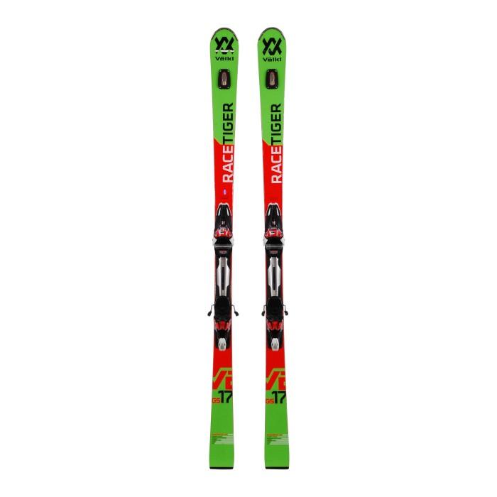 Gebrauchte Skifahren Volkl Racetiger GS + Befestigungen