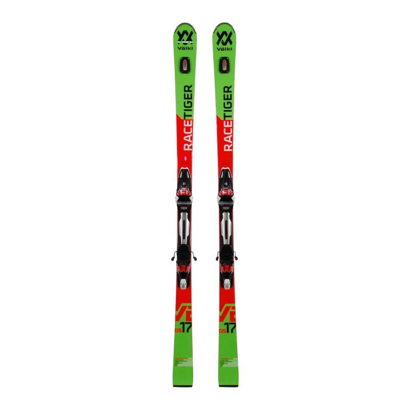 Ski used Volkl Racetiger GS - bindings