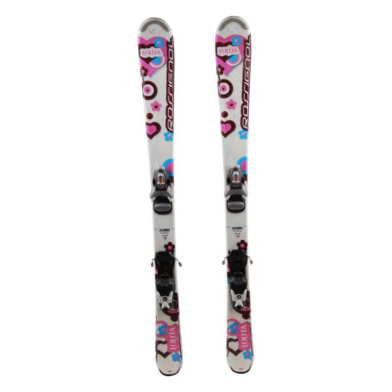 Gebrauchte Ski junior Nachtigall lolita + Befestigungen
