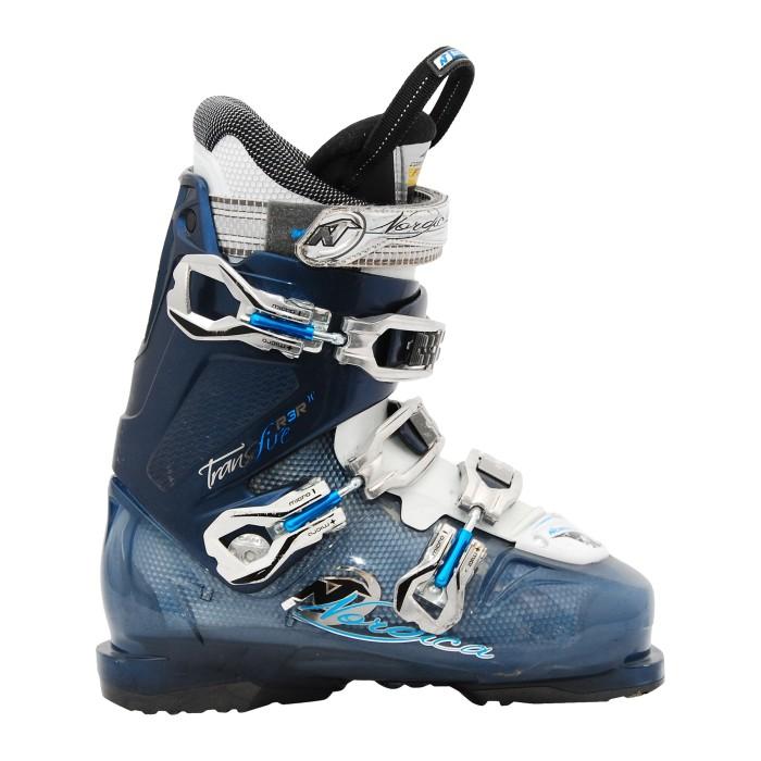 Skischuh Occasion Nordica transfire R3Rw blau