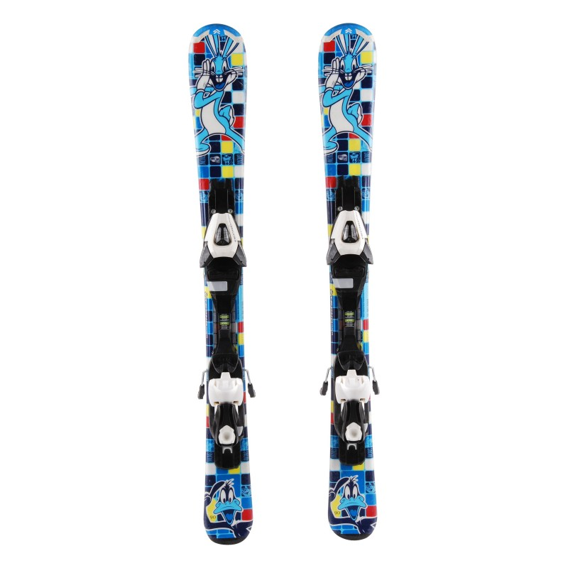 Ski occasion junior Tecno pro Looney Tunes Active Snow Qualité A + fixations