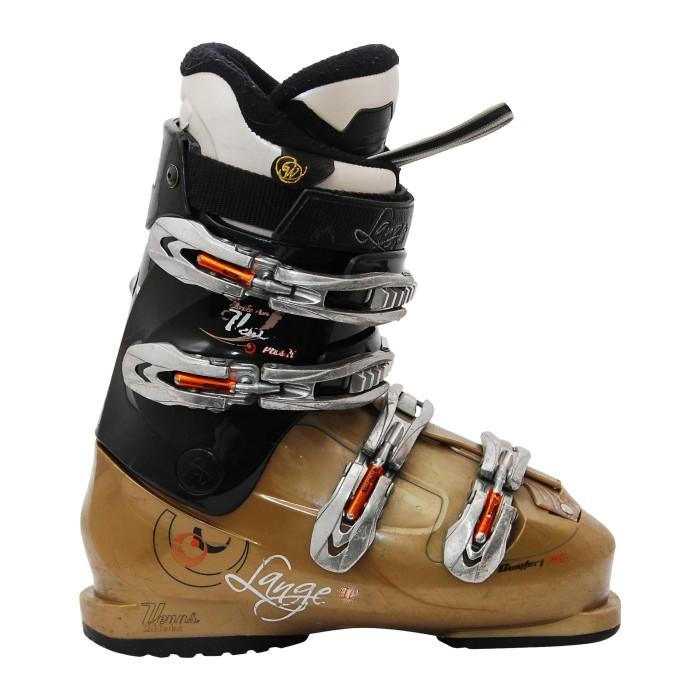 Exklusives Ski-Schuh Lange kommen exklusive R Gold/Schwarz