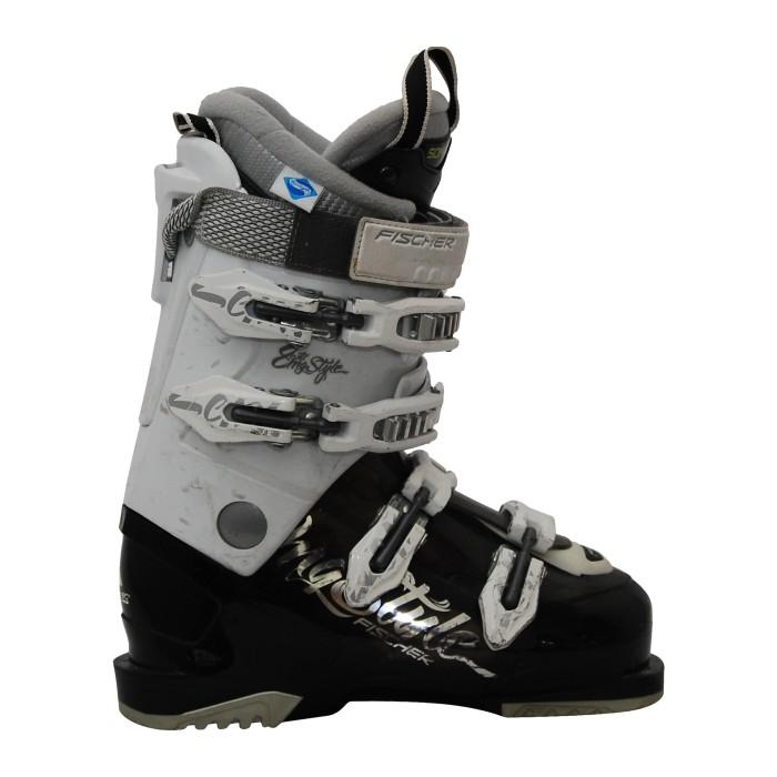 Chaussure de ski occasion Fischer my style RTX 8 blanc/noir