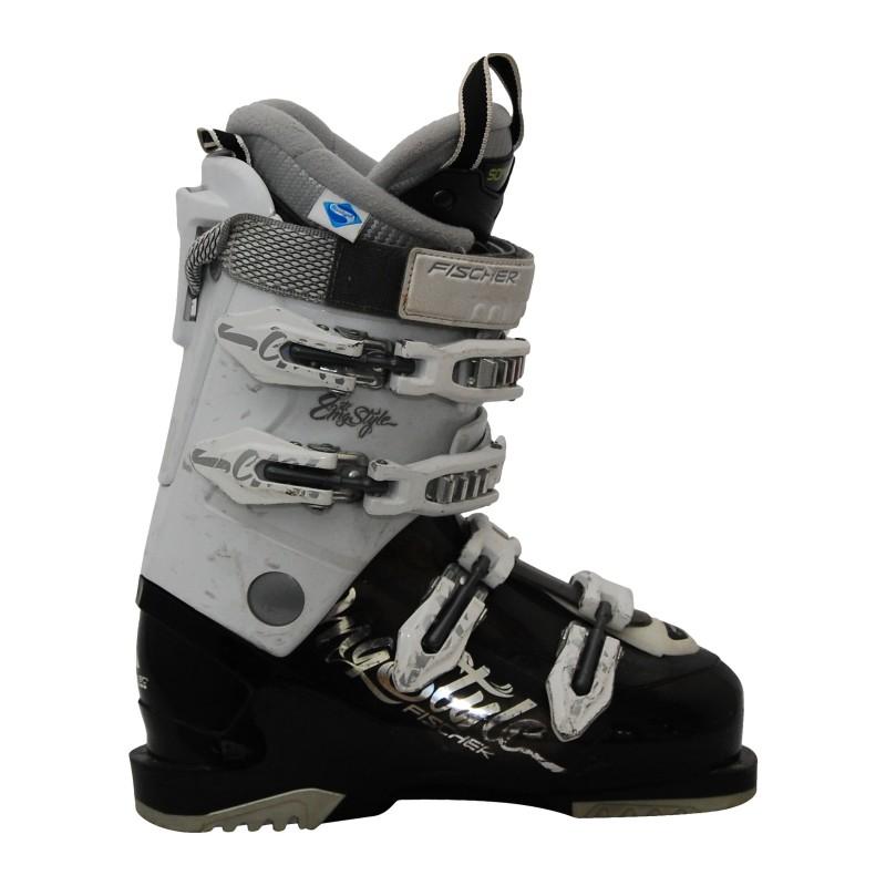 Chaussure de ski occasion femme Fischer my style RTX 8 blanc/noir