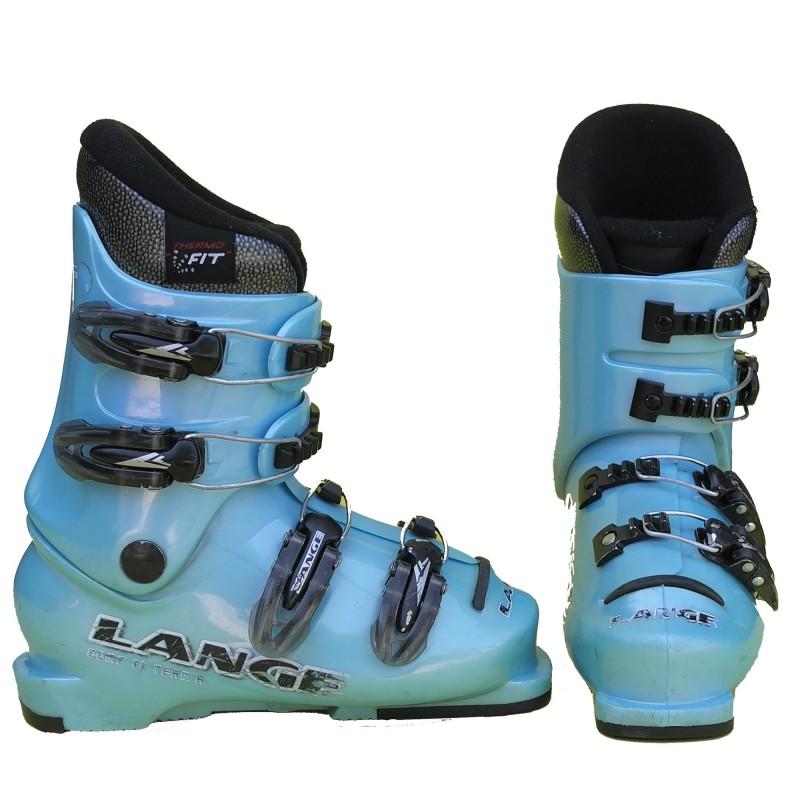 Chaussure de ski occasion Lange team 50/60 qualité A