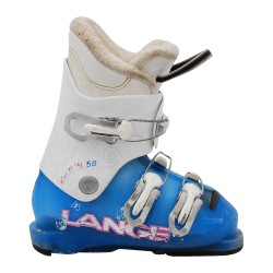 Chaussure de Ski Occasion Junior Lange Starlett RS J 50/60R bleue