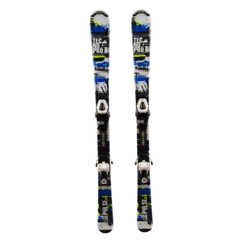 Ski Junior Tecno pro Pulse Team Gelegenheit + Befestigungen