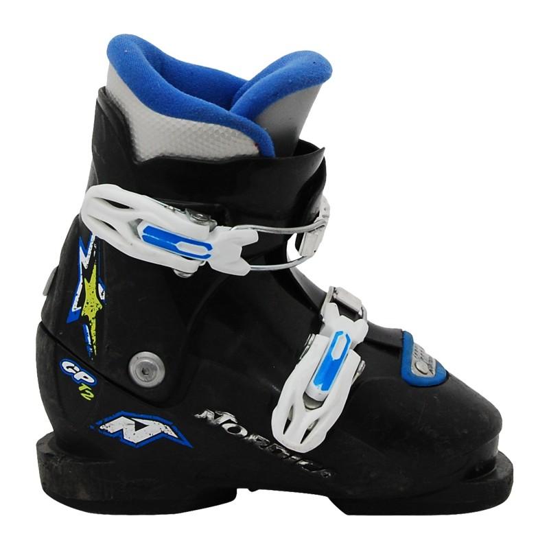 Chaussure de Ski Occasion Junior Nordica GP TJ noir vert bleu