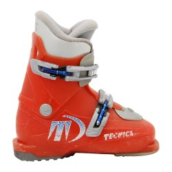 Chaussure de ski Occasion Junior Tecnica rj rouge orange