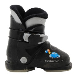 Junior Rossignol mini R 18 black ski shoe
