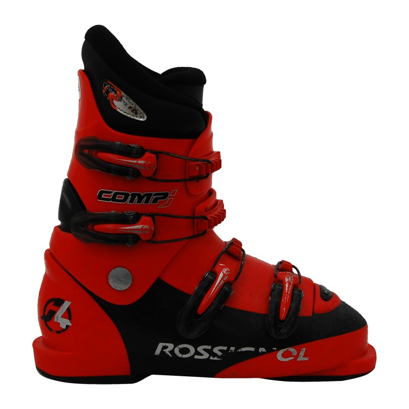 Chaussure de ski occasion junior Rossignol comp J rouge