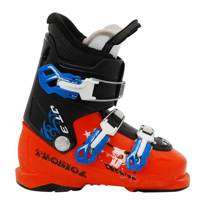 Botas de esquí Junior Tecnica JT negro/naranja