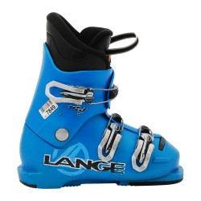 Chaussure de Ski Occasion Junior Lange RSJ 50R bleu clair