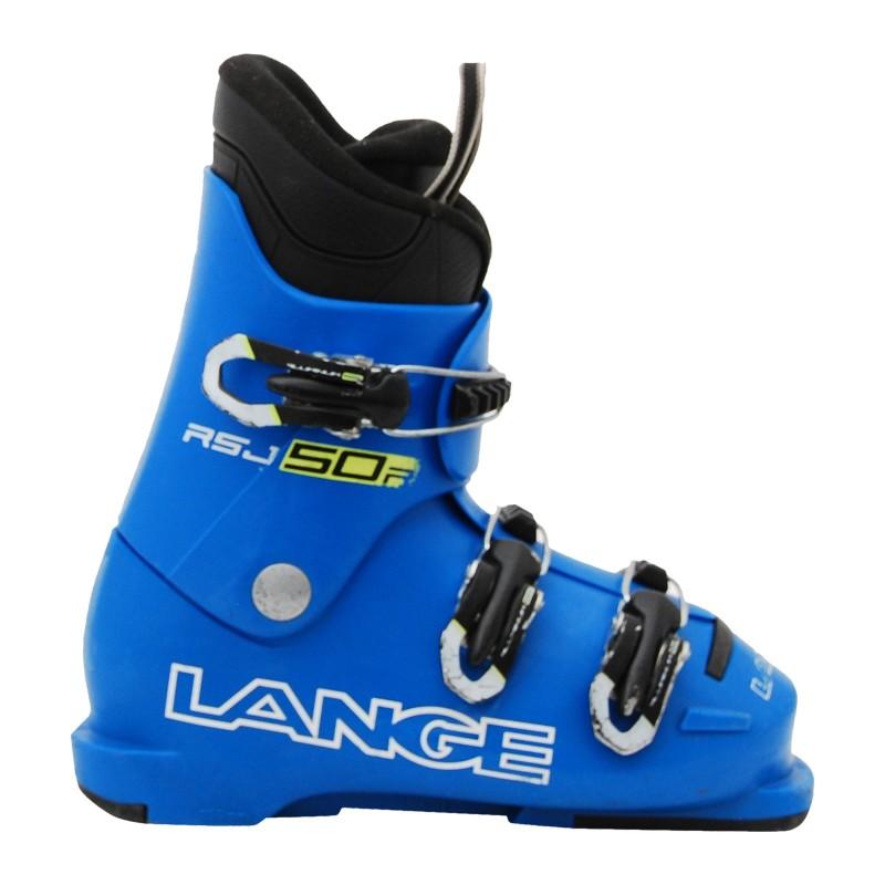 Chaussure de Ski Occasion Junior Lange RSJ 50R bleu qualité A