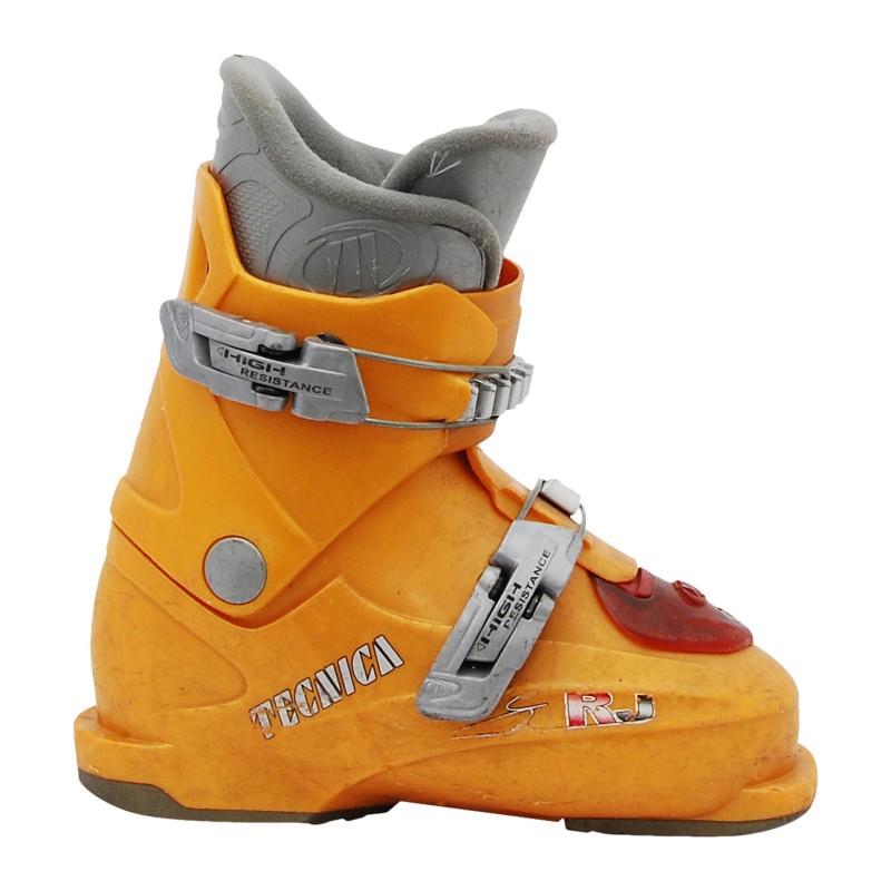Chaussure de ski Occasion Junior Tecnica rj orange