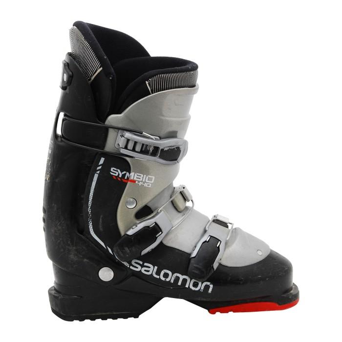 Chaussure de ski occasion adulte Salomon symbio noir rouge