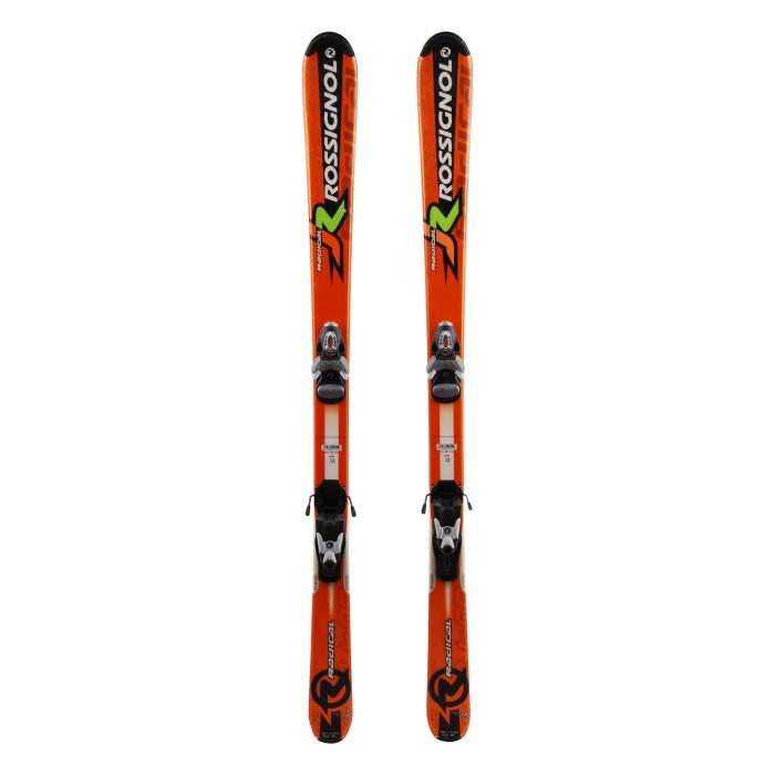 Ski occasion junior Rossignol Radical - fijaciones