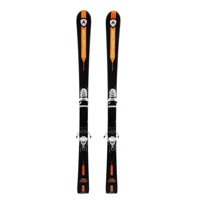 Junior Ski Dynastar Team Comp schwarz / orange + Bindungen