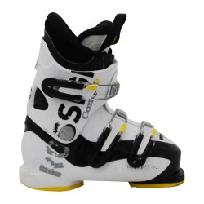 Chaussure de ski Junior Occasion Rossignol comp j3/j4 blanc/noir