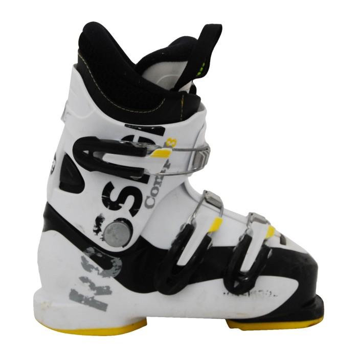 Skischuh Junior Occasion Rossignol comp j3/j4 weiß/schwarz