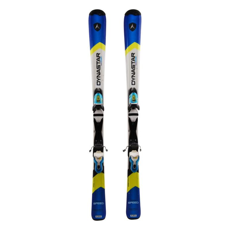Junior Ski Dynastar Team speed blue / white + Bindings