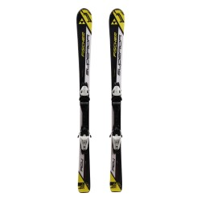 Gebrauchte Ski für Junior Fischer Superior RC4 + Befestigungen
